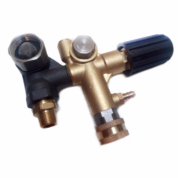 UVypušťací ventil samoodsávania - nloader valve self-suction