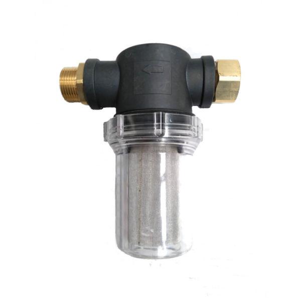 """Garden hose filter 3/4""""NH thread - Vodný filter pre záhradné hadice 3/4"""" NH závit s maticou"""