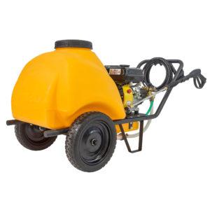 Petrol high pressure washer - Benzínový vysokotlakový čistič Gaspper GF120 so 120l nádržou na vodu